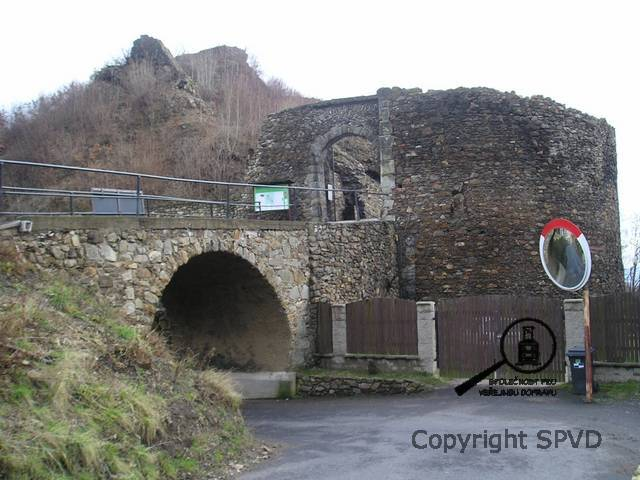 Zřícenina hradu Krupka