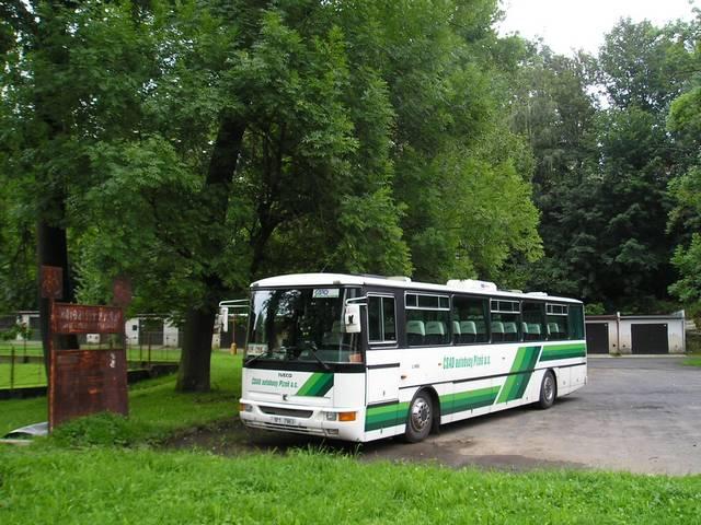 Karosa C 955 ČSAD autobusy Plzeň 1P1 7963