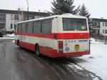 Karosa B 732 (BNA 76-84) na konečné linky 2 Spořilov II - mat. školka. L. Vrobel, 10. 2. 2006