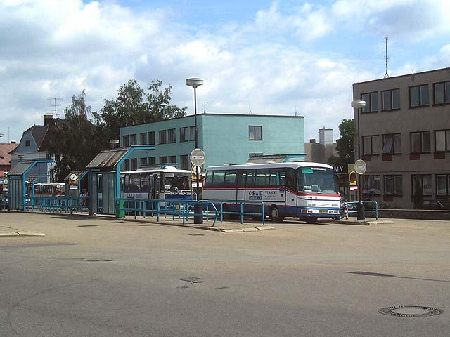 Autobusové nádraží v Benešově