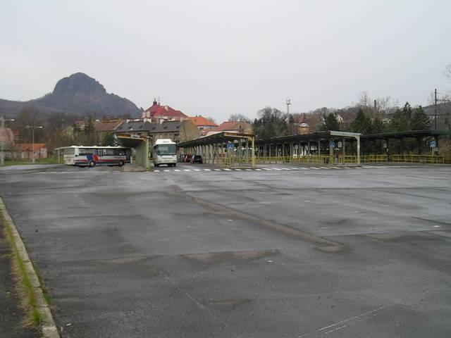 Autobusové nádraží v Bílině