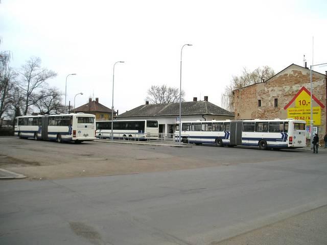 Autobusové nádraží ve Staré Boleslavi