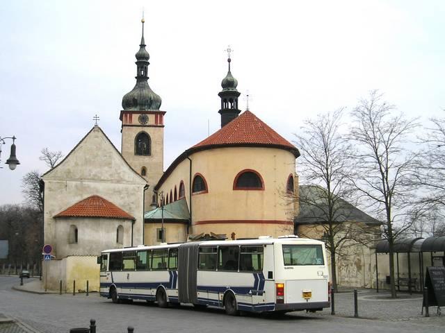 Kloubová Karosa C 943 ČSAD Střední Čechy ev. č. 1511 (r. v. 1997)