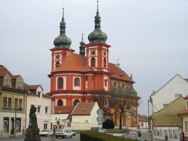Barokní kostel ve Staré Boleslavi