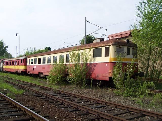 Vraky motorových vozů řady 830 v depu Brno - Maloměřice