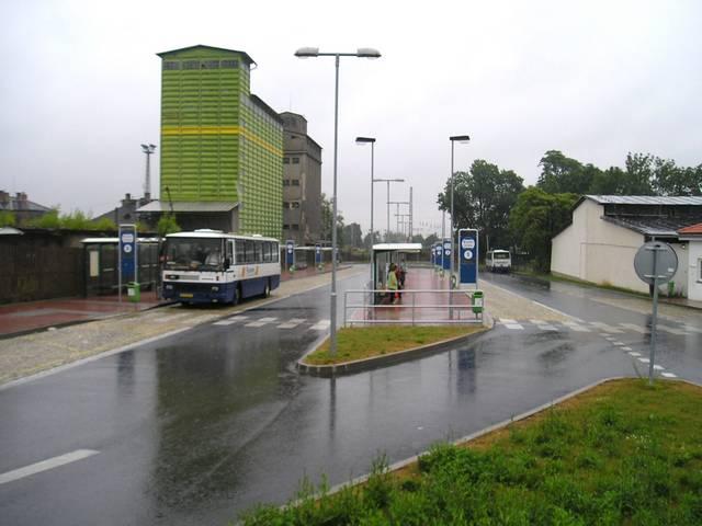 Autobusové nádraží v Čáslavi