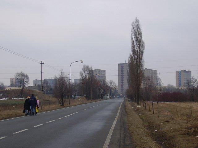 Dnešní Slezská ulice.