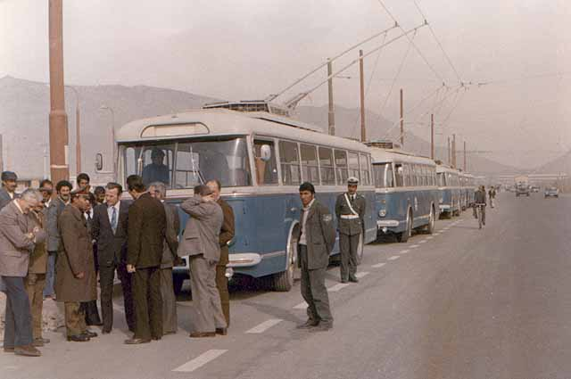 Trolleybuses of Kabul.