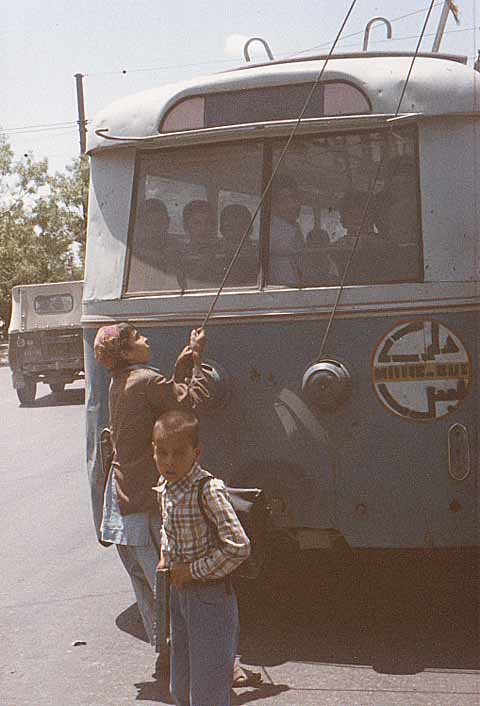 "The switch is replaced by ""trolleybus children"" 1988."