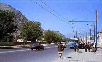 Peaceful years of Kabul - the 80´s.